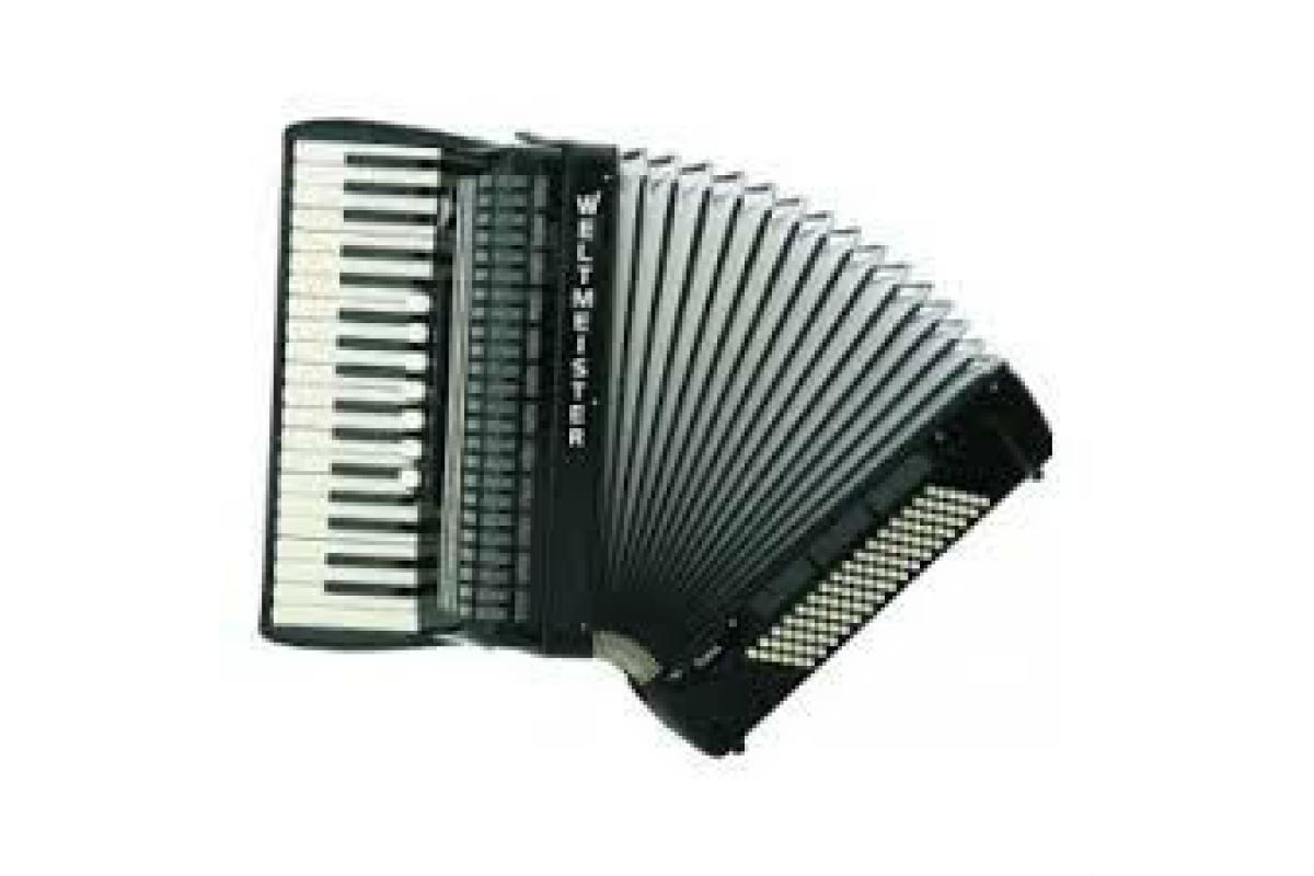 akordeonista z wokalem / również dj