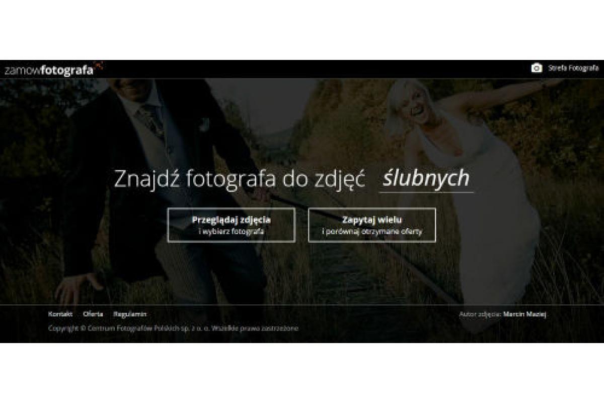 Zamowfotografa.pl-uniwersalna i nowoczesna wyszukiwarka fotografów