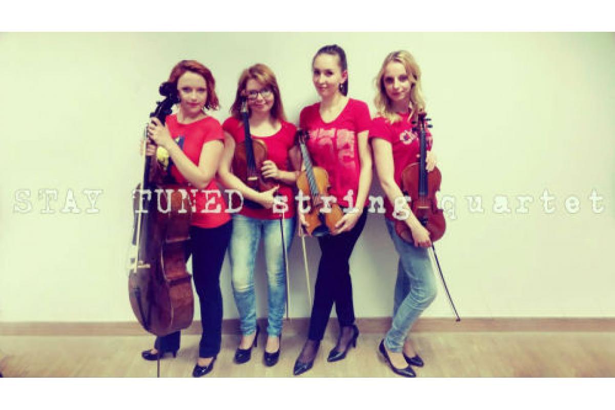 Kwartet smyczkowy Stay Tuned – oprawa muzyczna uroczystości