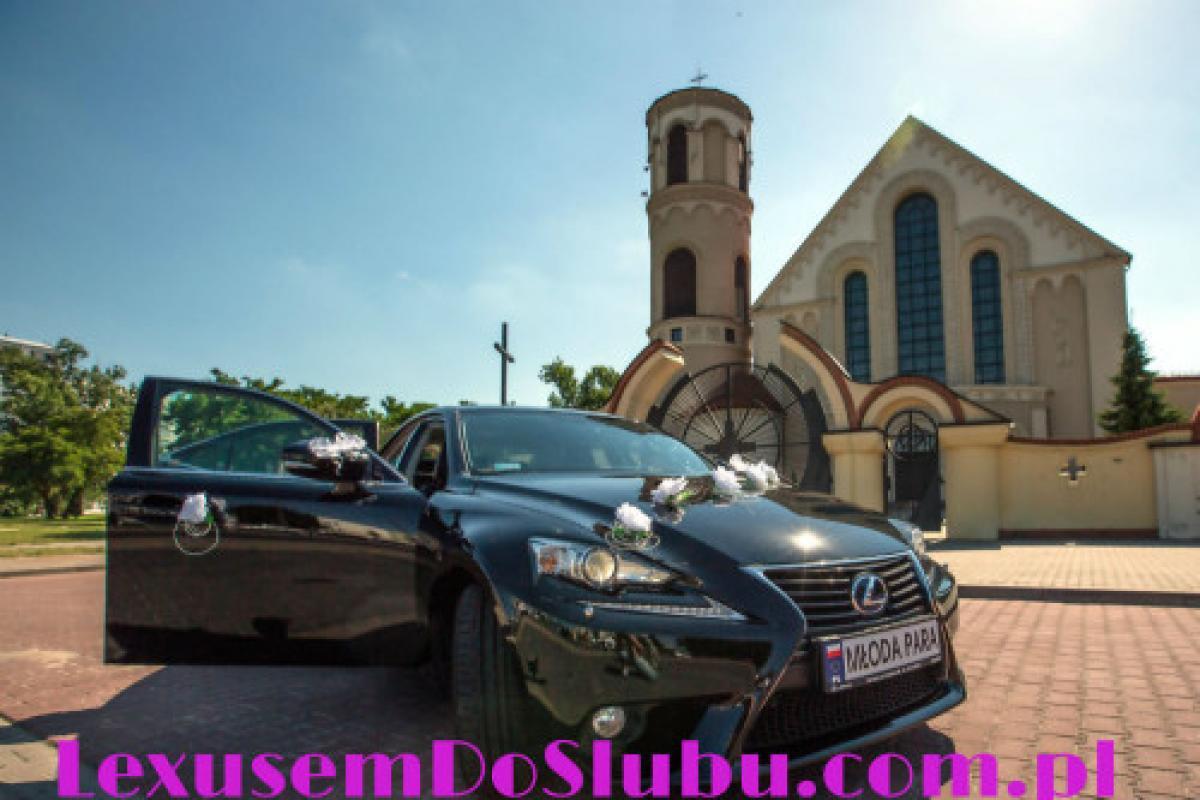 Samochód do ślubu czarny Lexus IS300h -prosto z Japonii!
