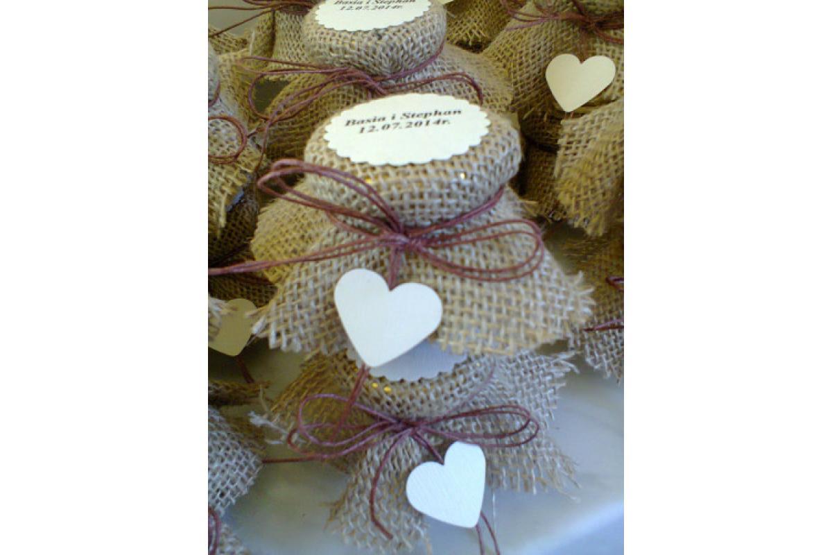Miodek weselny – podziękowanie dla gości
