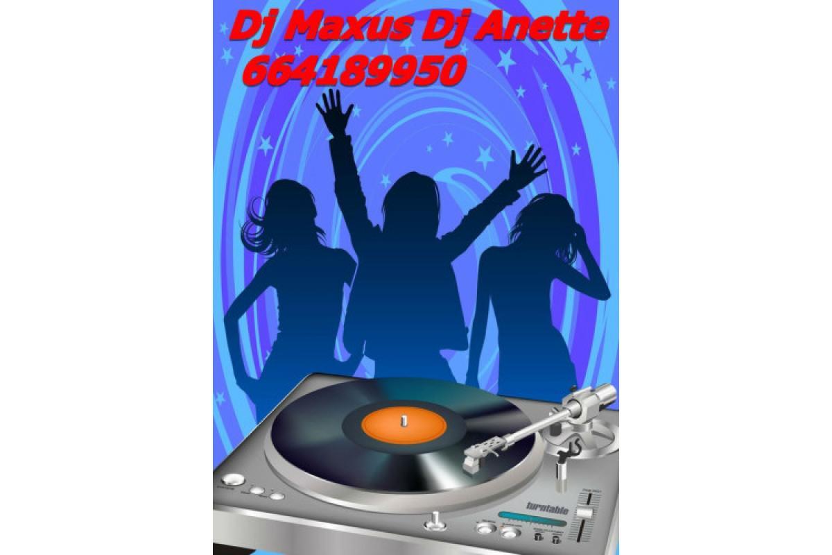 DJ Maxus Muzyk- And- Dj Anette wodzirejka Zapraszaja Panstwa