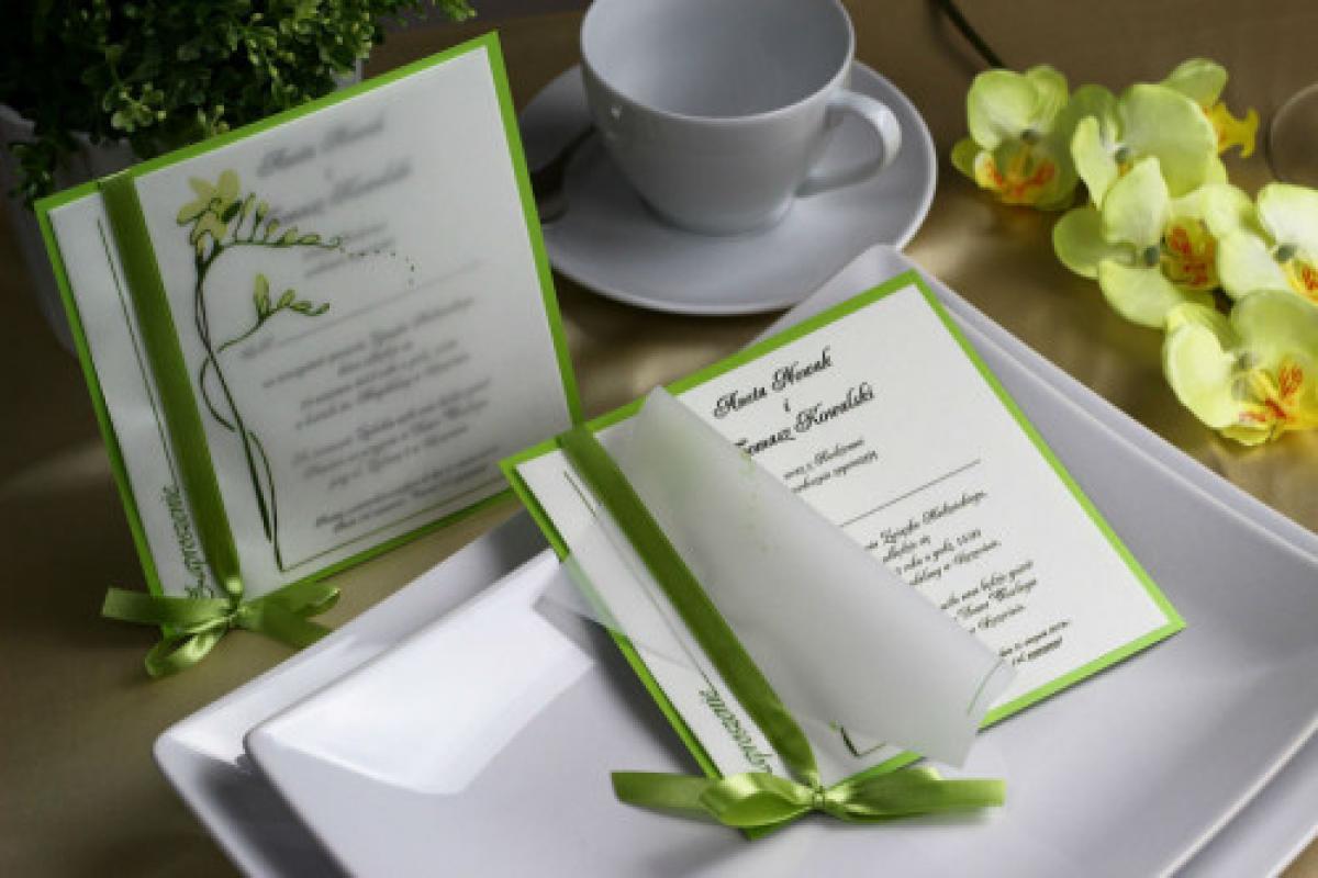 Nadzwyczajna papeteria ślubna