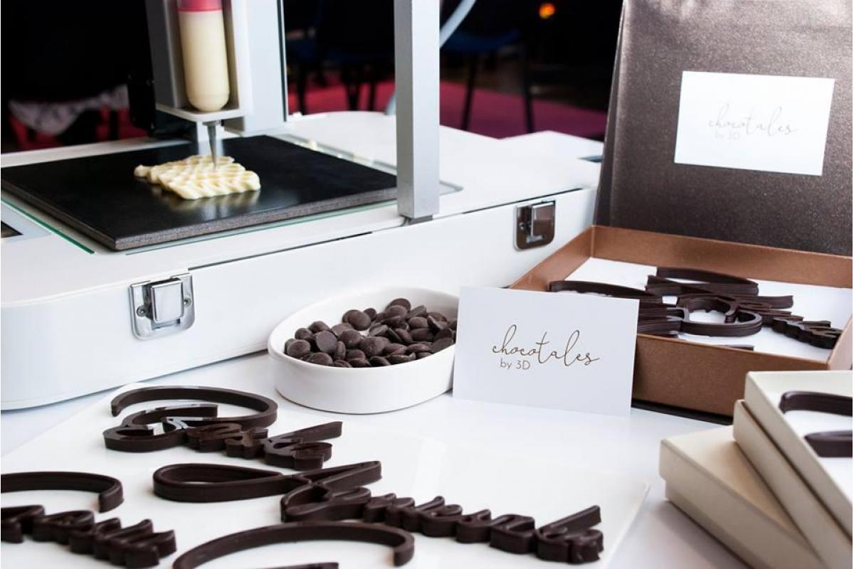 Chocotales by 3D: personalizowane prezenty z czekolady drukowanej w 3D